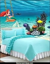 The Little Mermaid Bedroom Decor Startling The Little Mermaid Bedroom Decor Little  Mermaid Theme Bedroom Mermaid Decor The Little Mermaid Decor Mermaid Room  ...