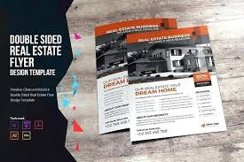 Commercial Flyers Real Estate Flyer Templates For Publisher Agent Ad Template Design