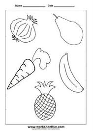 Small Picture Fruits and Vegetables Coloring Pages Special Needs Blogs