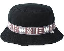 Thompson True Black Bucket - Burton hoed | Hatstore.nl