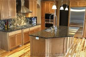 sapphire blue granite kitchen countertop
