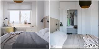 4 contemporary style small bedroom interior design white