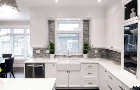 Clear Glass Backsplash Small White Kitchens Incredible Clear Glass Display Cabinet Modern