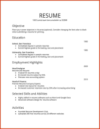 How To Format A Resume In Word Resume Format Word Fair Sample Resume Format Word Document How To 32