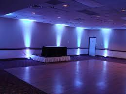 weddings uplighting blue blue wedding uplighting