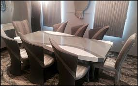 Custom Contemporary And Modern Dining Rooms Including Chairs Tables Amazing Modern Contemporary Dining Room Furniture