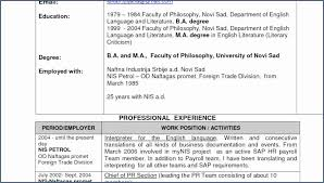 Preschool Teacher Resume Spanish Teacher Resume Objective Free Resume Resume Examples English