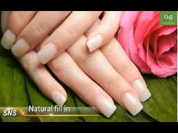 sns nails signature nail systems how to do refill sns natural set