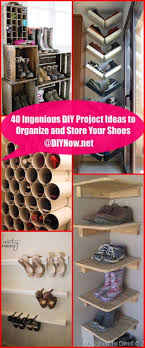 40 ingenious diy project ideas to organize and your shoes