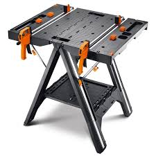 table works wx051 worx pegasus folding work table sawhorse ebay