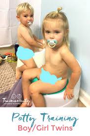 Potty Training Boy Girl Twins Twiniversity