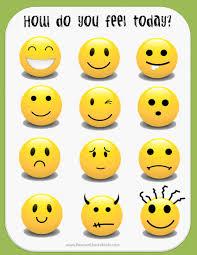 Printable Emotion Faces For Preschool Ajkcouncil