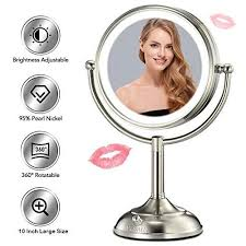 5x magnifying vanity mirror with 48
