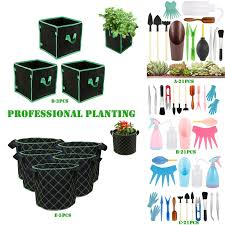 2020 Professional Planting <b>21 Pcs Mini</b> Garden Tools Set Miniature ...