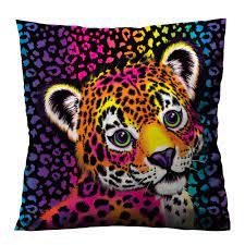Lisa Frank Hunter The Jaguar Cushion Case Cover Casefine Lisa Frank Custom Cushion Covers Throw Pillows