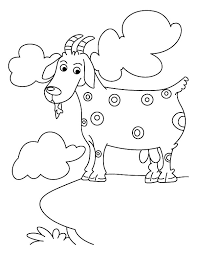 Small Picture Spotted Mountain Goat Coloring Pages Color Luna