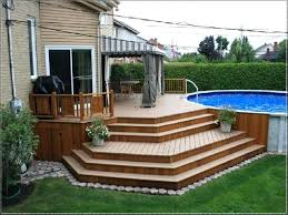 decks around above ground pools for plans deck swimming pool cover pictures