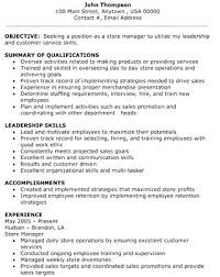 assistant manager skills clothing store manager resume retail store manager resume retail
