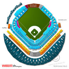 Tropicana Field Seating Chart With Rows Tropicana Field Map Keyword Data Related Tropicana Field