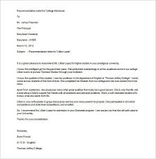 Letter Of Recommendation From Employer To College Employer Recommendation Letter For College Letterform231118 Com
