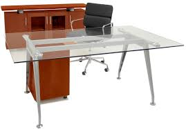 office glass desks. Office Glass Desks
