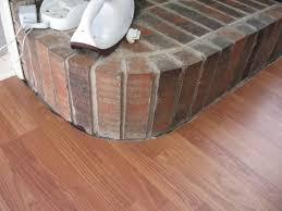 laminate flooring around curved fireplace fireplace3 jpg