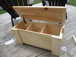 storage chest bench plans home design ideas