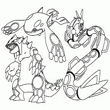 Pokemon Kleurplaten Legendaries