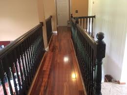 Stair Finishes Pictures Stair And Railing Redo With General Finish Java Gel Stain Floor