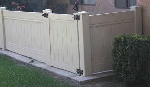Solid Privacy Fence Gate Vinyl Craft