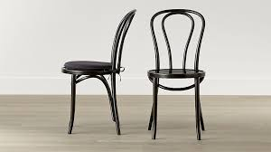 black dining chairs wood