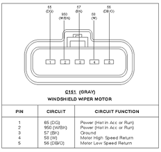 ford wiper motor wiring trusted wiring diagram online ford wiper motor wiring