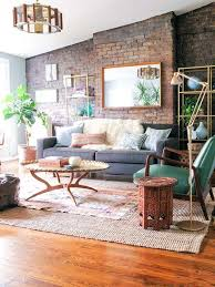 Image Rustic Beautifully Decorated Living Room With Accent On The Exposed Brick Wall Pinterest 54 Eyecatching Rooms With Exposed Brick Walls Home Decoration