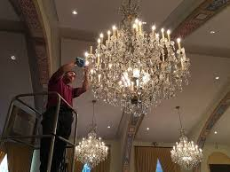 los angeles chandelier cleaning