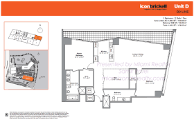 Miami Riches Real Estate Blog ICON BAY  Floorplans And RenderingsIcon Floor Plans