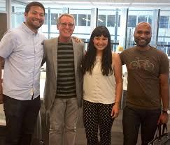 """Brandcenter on Twitter: """"Brandcenter reunion at @LeoBurnett! Olivier Tse  (ST 07), Rick Boyko, AJ Livsey (ST 08), and Udayan Kolandra (ST 05)  http://t.co/qcnjgKDtdx"""""""
