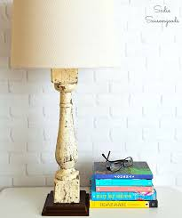 Salvaged Farmhouse Baluster Repurposed Into Diy Bedside Table Lamp