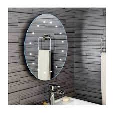 bathroom mirrors with lights. illuminated bathroom mirrors - battery powered with lights
