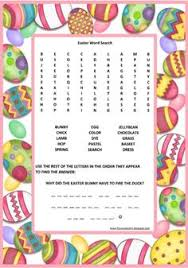 Small Picture EASTER COLOURING PRINTABLE EASTER ACTIVITY SHEETS EASTER WORD