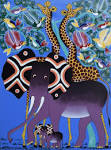Image result for tingatinga paintings
