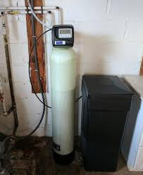 New Water Softener Alexander Customer Gets Rid Of Hard Water Build Up