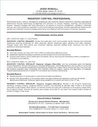 Inventory Control Resume Amazing Sample Resume For Inventory Manager Igniteresumes