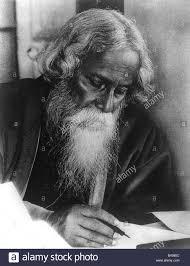 tagore rabindranath n poet portrait  tagore rabindranath 6 5 1861 7 8 1941 n poet portrait writing philosopher writer nobel price laureate literature