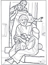 Dochtertje Van Jaïrus 3 Bijbel Kleurplaten Nieuwe Testament
