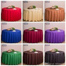 round table cloths wedding party decorations tables banquet nappe runner colorful tablecloth home antependium factory direct dda23 round table cloths