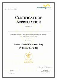 free templates for certificates of appreciation certificates of appreciation free templates best of template