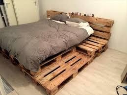 attractive pallet platform bed with best 25 pallet platform bed ideas on diy bed frame