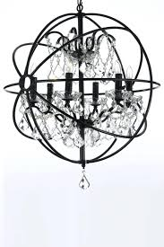 top 67 fine wrought iron crystal orb chandelier image of gallery chandeliers versailles wonderful and with