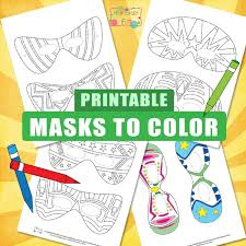 Welcome to our popular coloring pages site. Halloween Masks For Kids To Color Itsybitsyfun Com