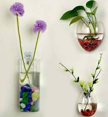 hanging wall vase mouse shaped plants